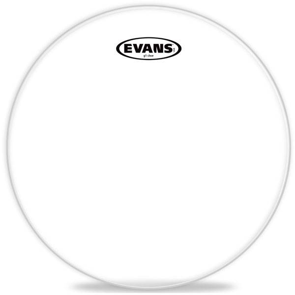 "Evans - Genera G1 Clear - [TT18G1] Pelle x tom 18"" GENERA G1 Clear"
