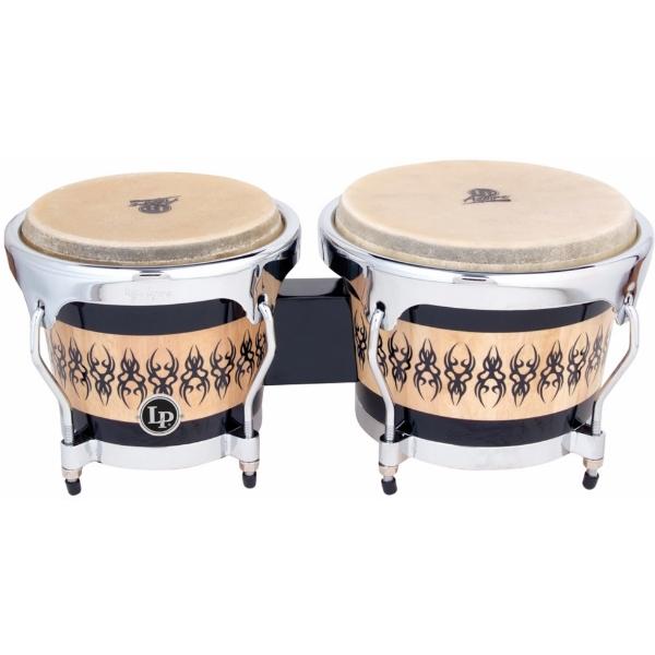 Lp Latin Percussion - Aspire - [LPA601SCC] Bongos in quercia - finitura Scarab