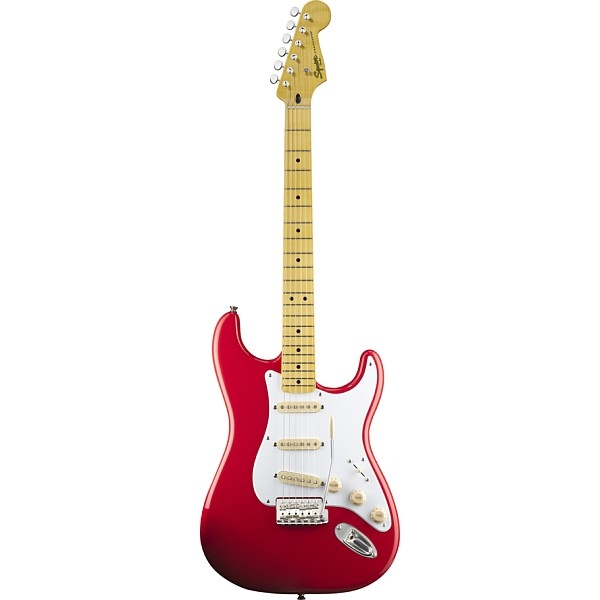 Fender - Squier Classic Vibe - [0303000540] Stratocaster '50s Fiesta Red Maple