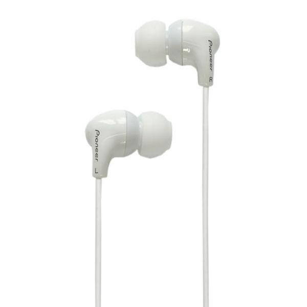 Pioneer - [SE-CL501T-W] Cuffia auricolare dinamica con microfono Bianca