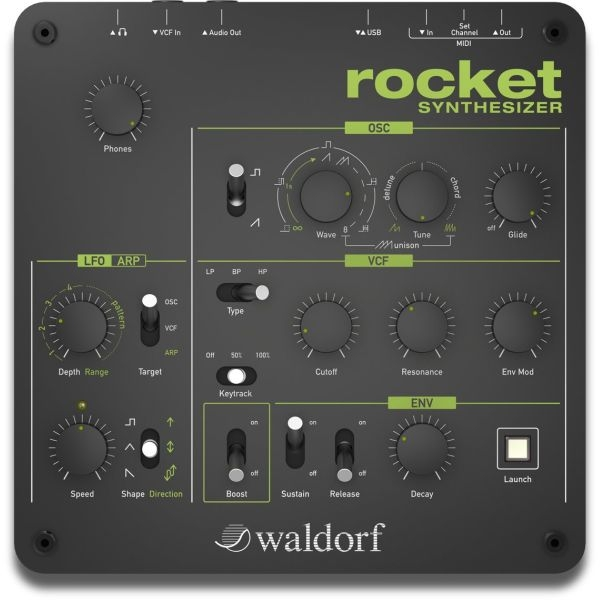 Waldorf - Rocket synthesizer