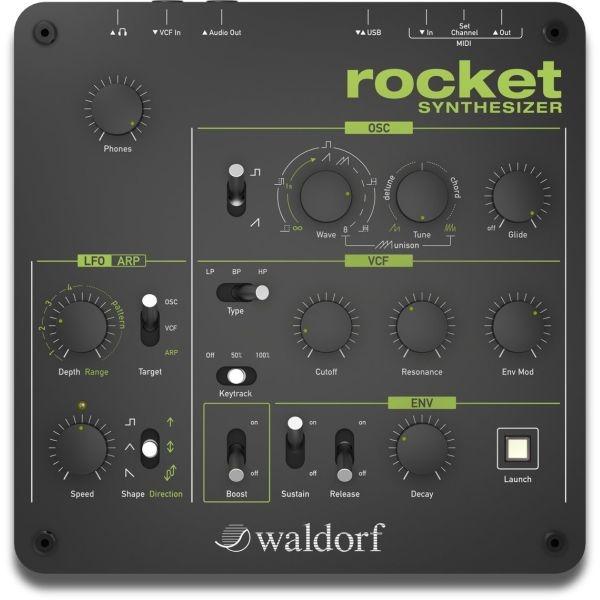Waldorf - Rocket synthesizer