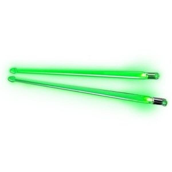 Buztronics - [FX12GR] Bacchette Luminose Firestix in Plastica, Luce Verde.