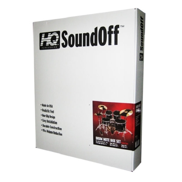 "Evans - [SO-SET-FSN] Set sordine ""Sound Off"" - Fusion"
