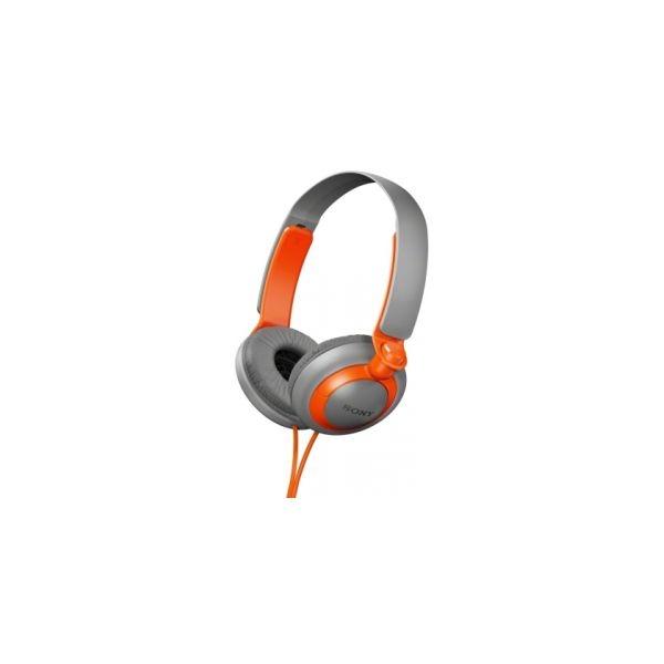 Sony - [MDR-XB200] Cuffia Extra Bass Grigio/Arancio