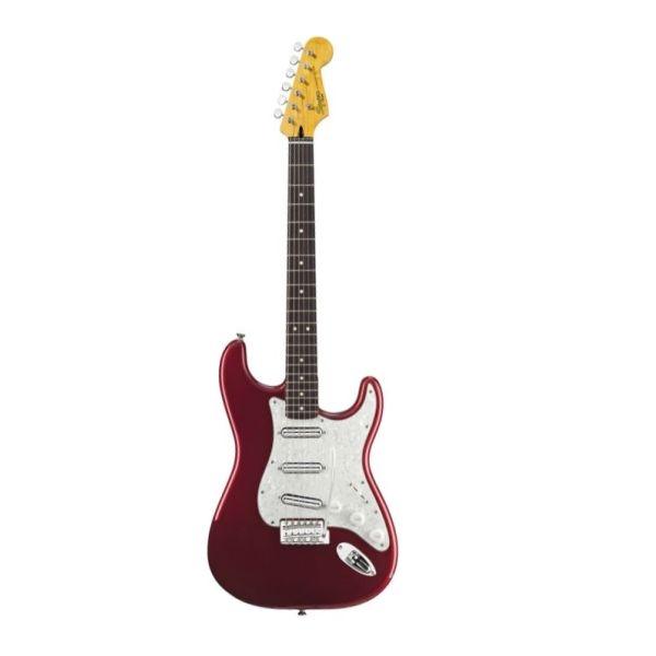 Fender - Squier Vintage Modified - [0301220509] Surf Stratocaster Candy Apple Red Rowewood