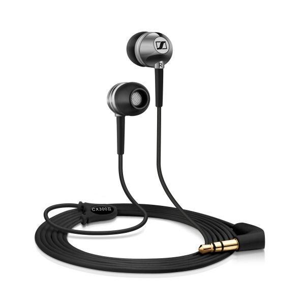 Sennheiser - [CX 300II] Microcuffia Ear Canal Precision Chrome