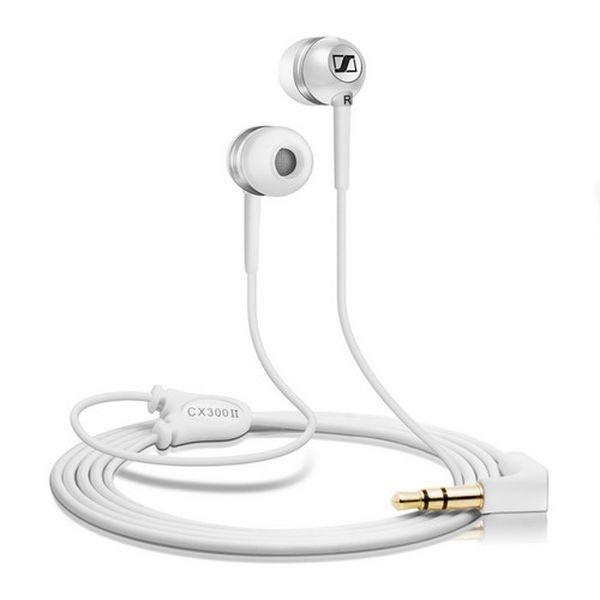 Sennheiser - [CX 300II] Microcuffia Ear Canal Precision White