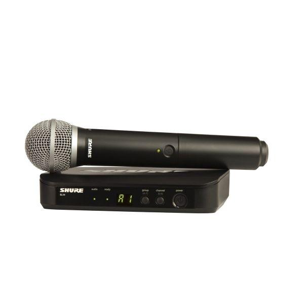 Shure - [BLX24E/PG58] Radiomicrofono Serie PG Wireless