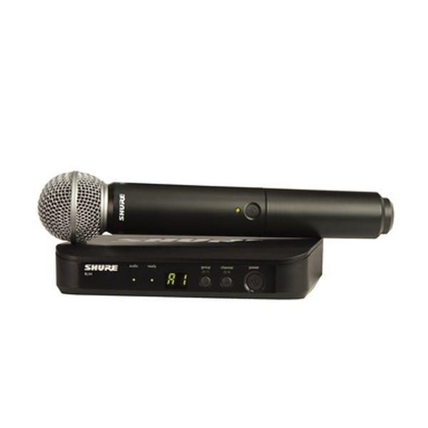 Shure - [BLX24E/SM58] Radiomicrofono Serie SM Wireless