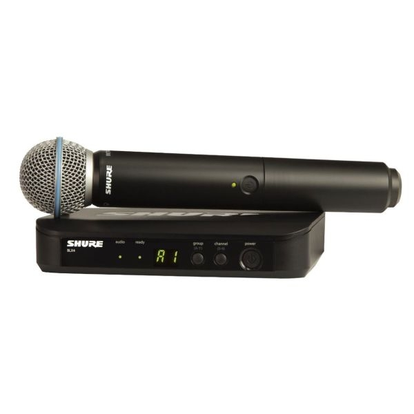 Shure - [BLX24E/B58] Radiomicrofono Serie Beta Wireless