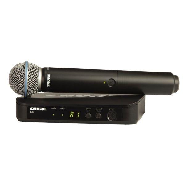 Shure - [BLX24E/B58] Radiomicrofono Serie Beta Wireless