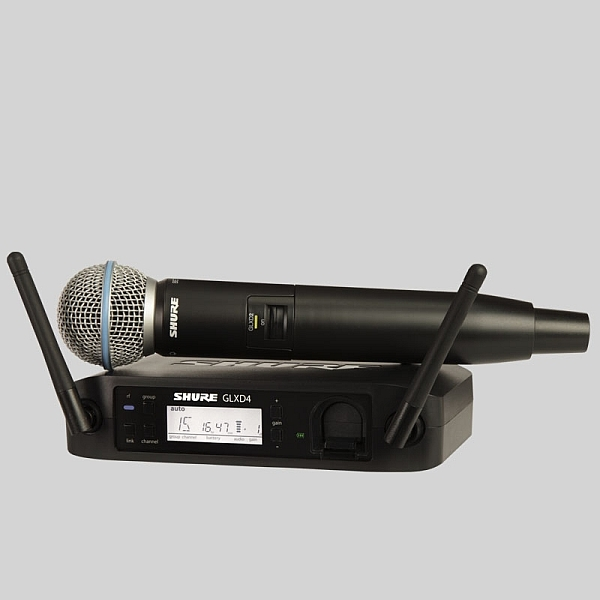 Shure - [GLXD24E/B58] Radiomicrofono Serie Beta Wireless