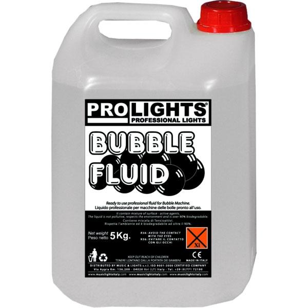 Prolights - [BUBBLEFLUID] Liquido per macchina bolle 5 Kg.