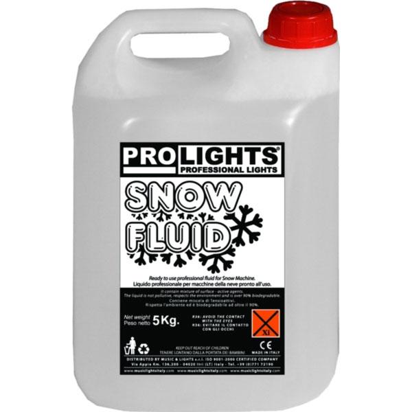 Prolights - [SNOWFLUID] Liquido per macchina della neve 5 Kg.