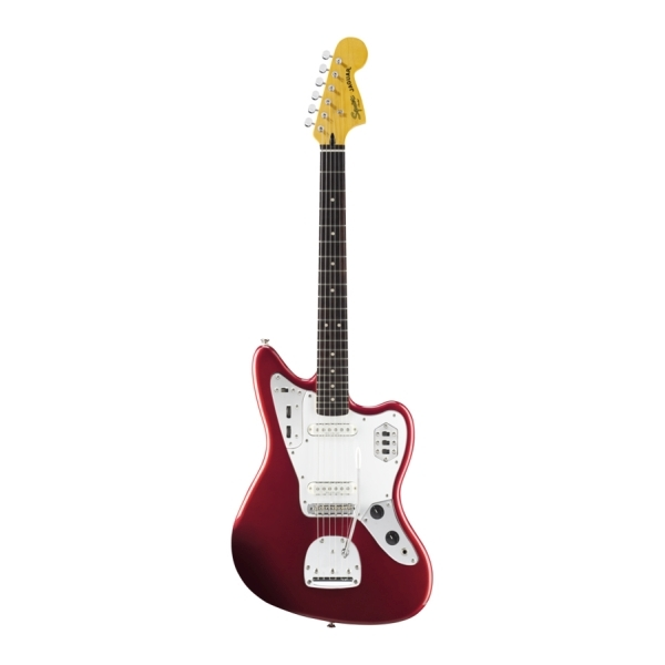 Fender - Squier Vintage Modified - [0302000509] JAGUAR Telecaster / RW -  Candy Apple Red