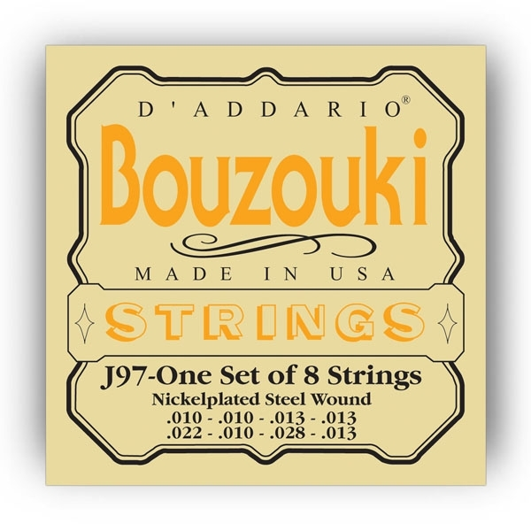 D'Addario - [J97] Muta Bouzuouki Greco 8 corde