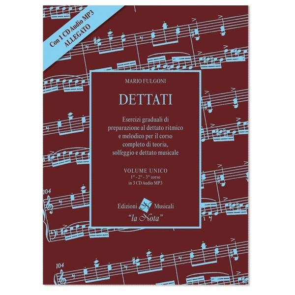 La Nota - Mario Fulgoni - Dettati, Volume Unico (9788898031085)