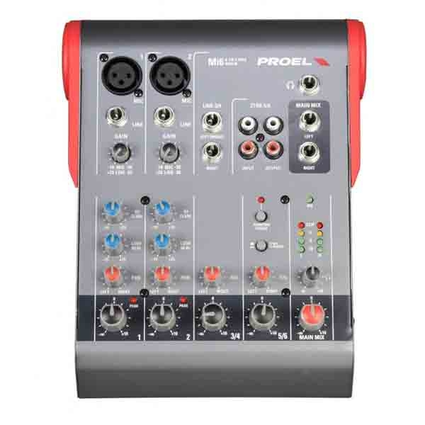 Proel - [MI6] Mixer 6 canali