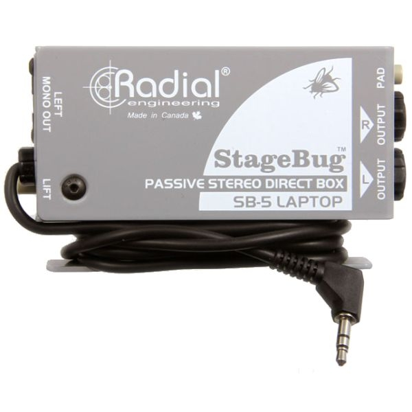Radial - [SB-5] Direct Box x Laptop