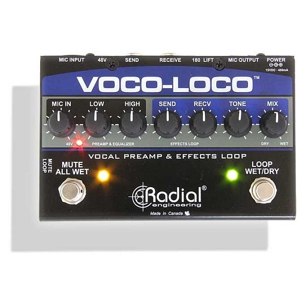 Radial - [Voco-Loco] Switcher effetti per voce o strumenti
