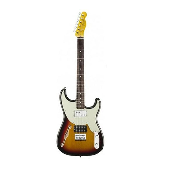 Fender - Pawn Shop - [0266200300] 72 3Tone Sunburst Rosewood