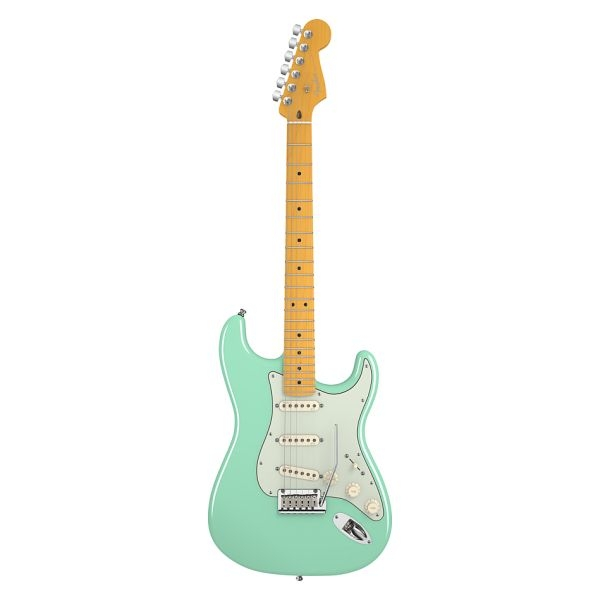 Fender - American Deluxe - [0119202757] V Neck Surf Green Maple