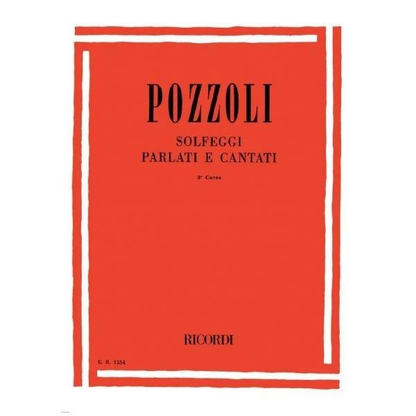 Ricordi - [ER1154] Pozzoli - Solfeggi Parlati e Cantati, 3° corso (9790041811543)