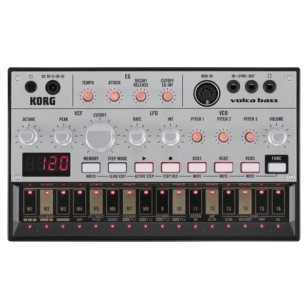 Korg - Volca Bass Sintetizzatore Analogico