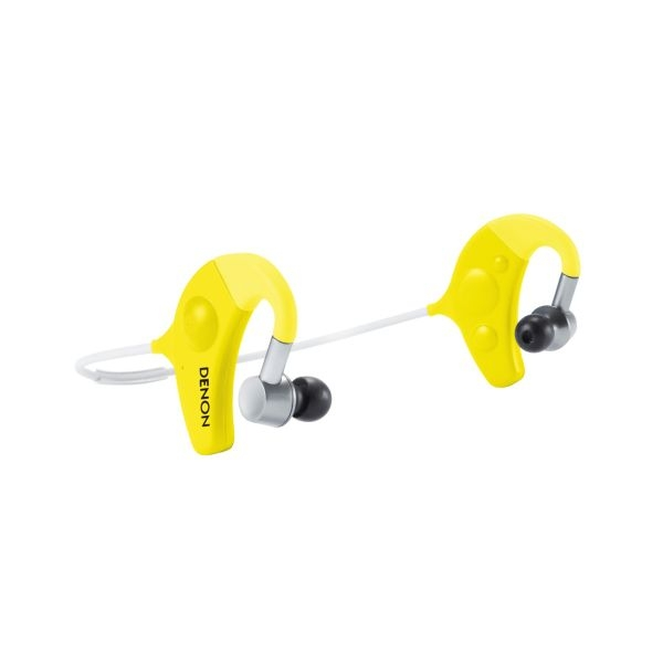 Denon - Exercise Freak - [AH W1501YW] Cuffie Fitness Bluetooth - Yellow