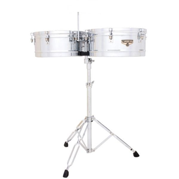 "Lp Latin Percussion - Matador - [M257] Coppia Timbales - Chrome 14""-15"""