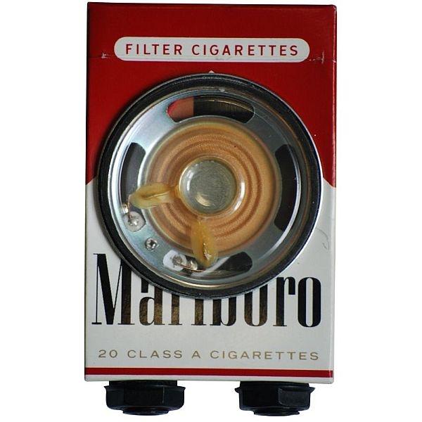 _ - Recycled Cygarette Pack Smokey Amp
