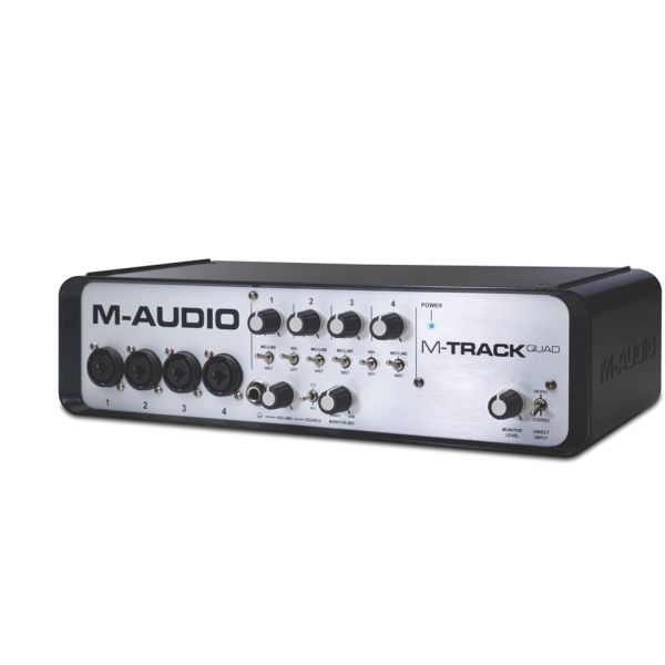 M-Audio - [M-TRACK QUAD] Interfaccia audio 4 x 4