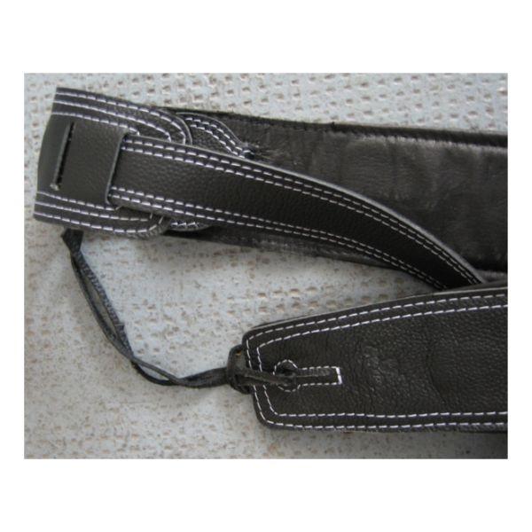 Bull - [201036] Tracolla x basso in pelle, nera