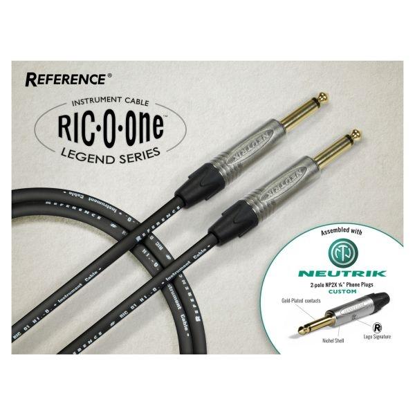 Reference - [RIC01-BK-JJ-4,5-N] Cavo jack Mono M > jack Mono M - Legend 4,5 mt