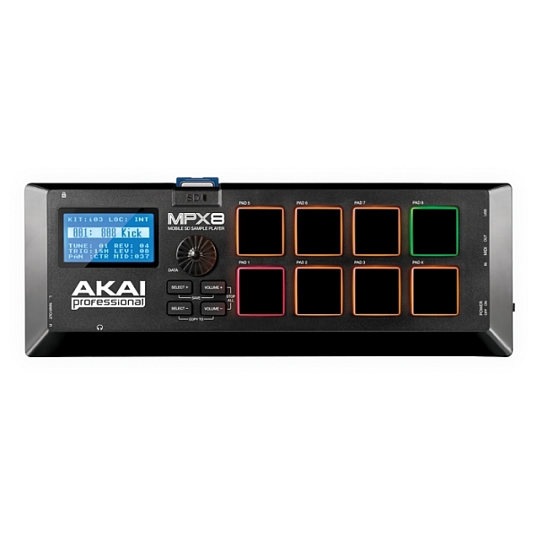 Akai - [MPX8] Mobile SD Sample Player