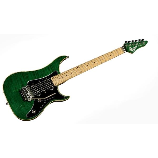 "Vigier Guitars - ""EXCALIBUR Custom"" Hsh - Mn - Emerald Green"