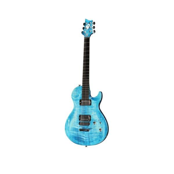 Vigier Guitars - [G.V.WOOD] Chitarra Elettrica - Stonewash Blue