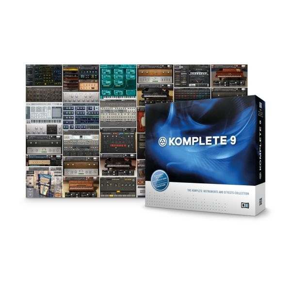 Native Instruments - [KOMPLETE 9 ULTIMATE] Software per la produzione musicale