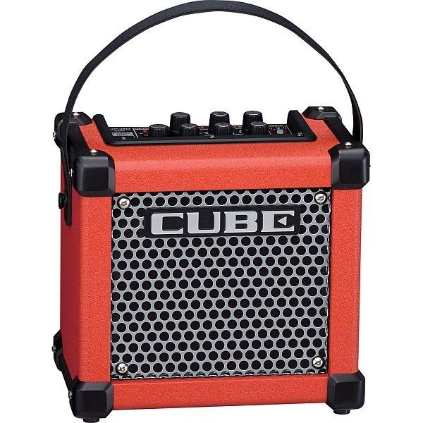 Roland - MicroCube GX R Amplificatore per chitarra rosso