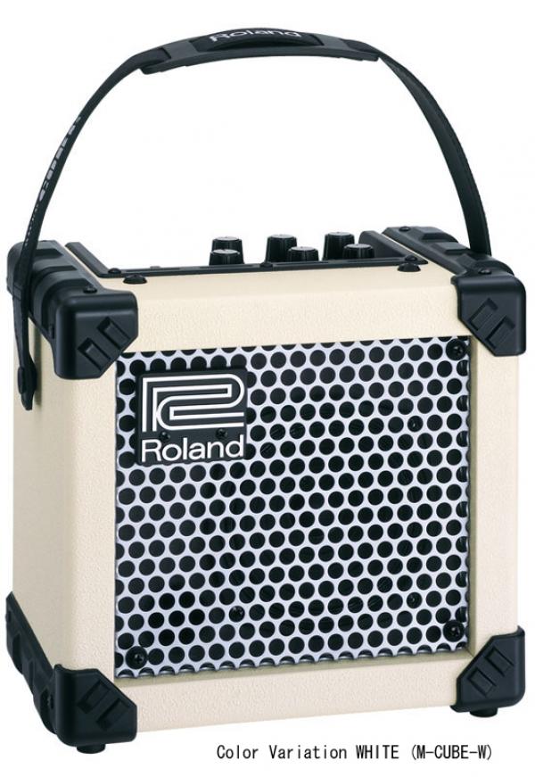 Roland - [MCUBEGXW] Microcube Amplificatore per chitarra 2W White
