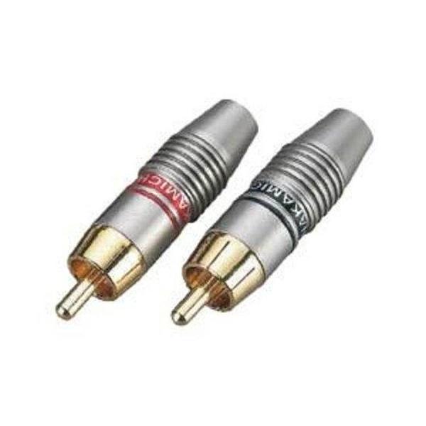 Soundsation - [SRCA023M] Confezione da 4 pz Connettori Rca