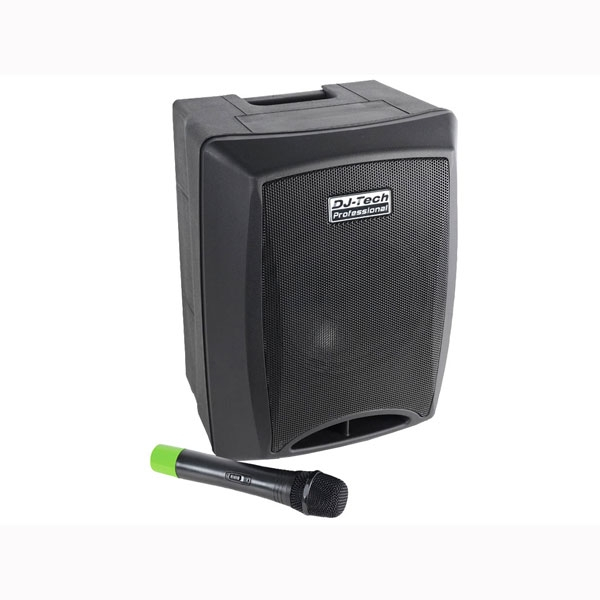 DJ-Tech - [VISA400BT] Sistema di amplificazione portatile 80W