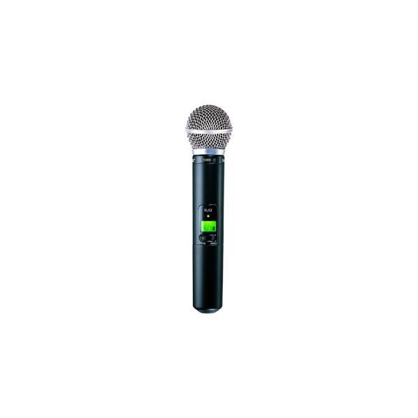 Shure - SLX2/SM58 J3 Microfono con trasmettitore wireless