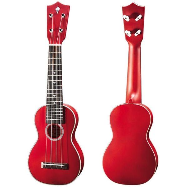 Kamoa - [E3-SV] Ukulele Soprano E3 Series - Vintage Red