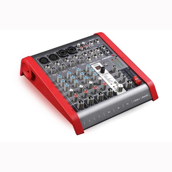 Proel - [M602FX] Mixer 6 canali con effetti