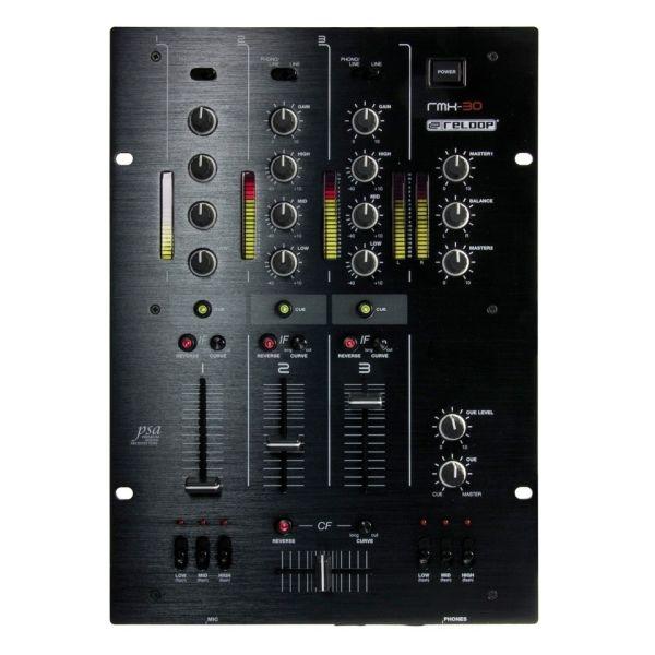 Reloop - [RMX-30] Mixer Dj 3 canali - BlackFire Edition
