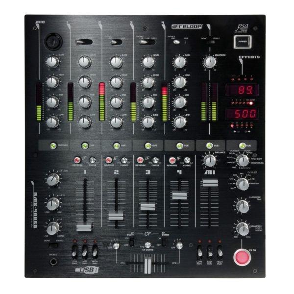 Reloop - [RMX 40 Usb] Mixer Dj Stereo 4+1 canali