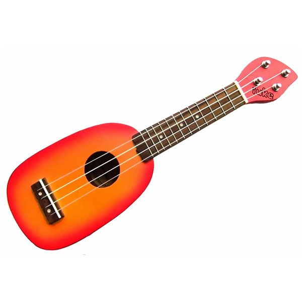 iUKE - Piccolo Ukulele - Pineapple Red + Custodia