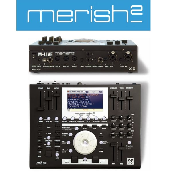M-Live - [MERISH2]  Workstation per file e basi musicali MIDI/MP3